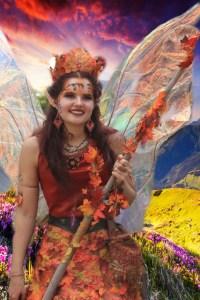 Autumn fairy at Ren Fair