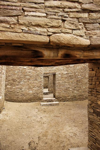 Doorways into rooms