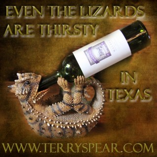 Even the Lizards are Thirsty in Texas