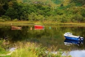 Three Boat Reflection