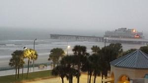 Stormy Pier, Daytona Beach