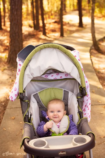 walk with baby nice shot smile golden woods 900 051