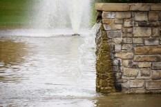 water fountains brick wall 1000 070