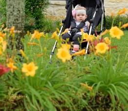 Keira behind flowers 1000 066