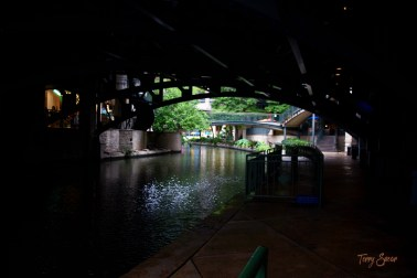 Reflections on the water 1000 Riverwalk San Antonio 006