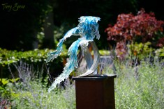 waterfall sculpture 1000 arboretum Minnesota 050