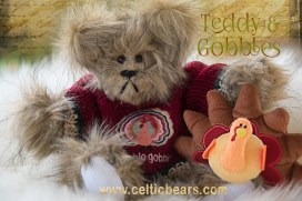 Teddy and Gobbles 1000 Thanksgiving bears 005