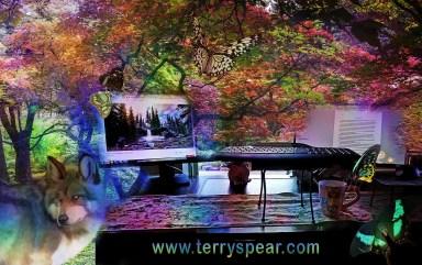 fantasy writing work station