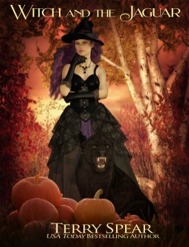 Witch and the Jaguar witch and black jaguar before texture 1000
