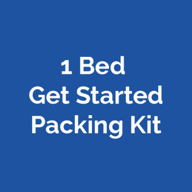 1 bed Get Started Packing
