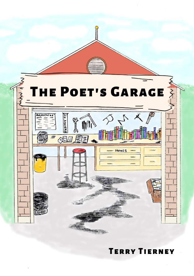 Poet's Garage cover design