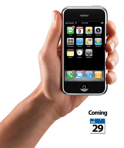 iPhone coming June 29th
