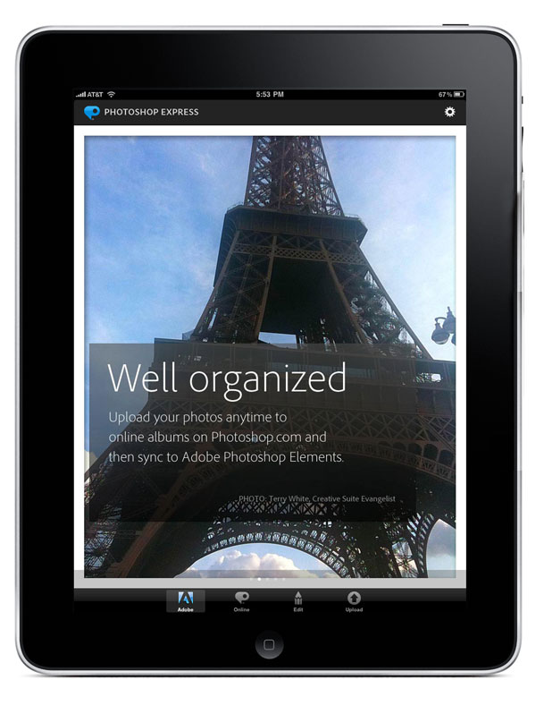 Adobe Updates Photoshop Express for iPad, iPhone, Android ...