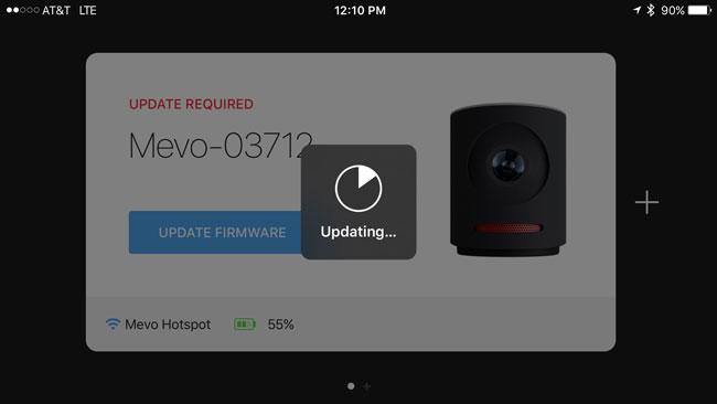 Mevo-firmware-update