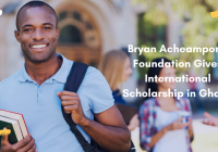 Scholarship Package For Bryan Acheampong Foundation