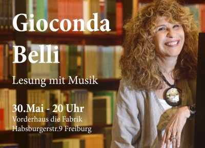 30.05.2018 Gioconda Belli en Freiburg