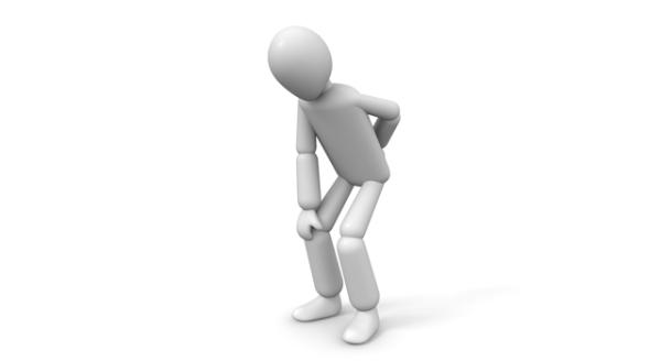 ラジオ体操で腰や膝を傷めることがある