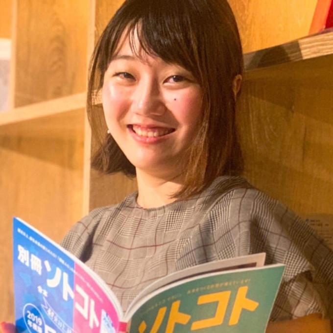 「パラキャリ酒場」は、笑顔が魅力的な高村エリナさんの作り上げたイベント(撮影:甲斐千晴)