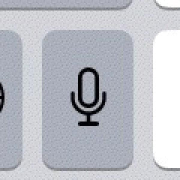 このマイクボタンを押すと、話した言葉が文字に変換されていきます