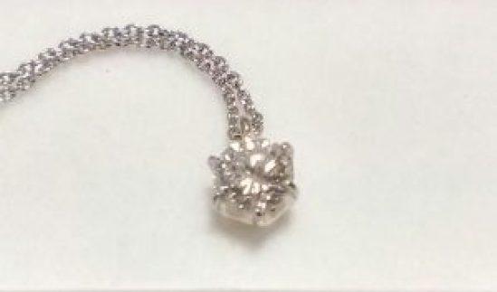 ダイヤのネックレス