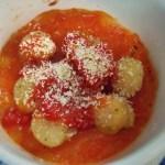 ホタテのトマトソースかけで、簡単にツマミをもう一品!