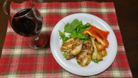 ボジョレーヌーボと鶏肉