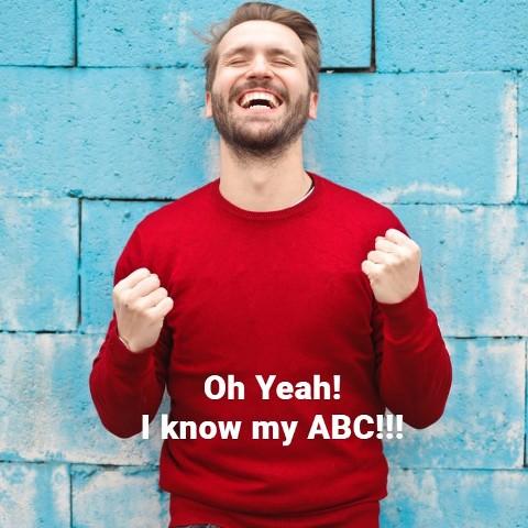 I know my ABC, the English Alphabet