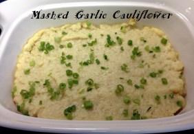 Mashed Garlic Cauliflower