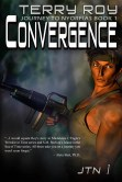 Alternative cover forConvergence with different background, original artwork