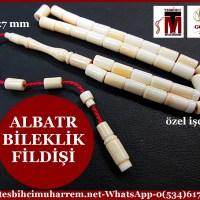 FİLDİŞİ TESBİH 4,5x7 mm BİLEKLİK ALBATR (TM4417)