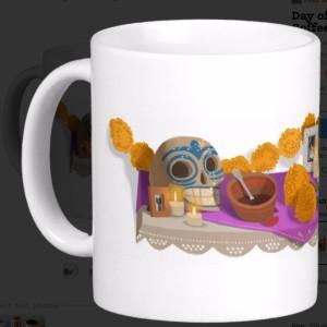 Day_of_the_Dead_Classic_White_Coffee_Mug___Zazzle
