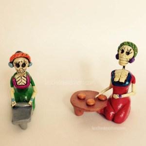 Calaveritas de terracota - Le signore