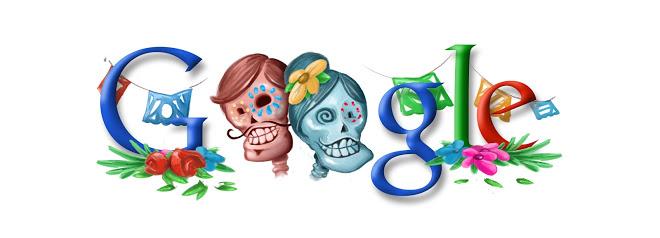 Doodle di Google 2008 - Dia de Muertos - Day of the dead