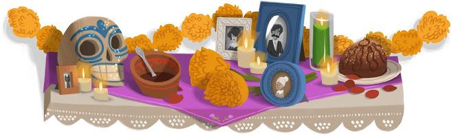 Doodle di Google 2011 - Dia de Muertos - Day of the dead