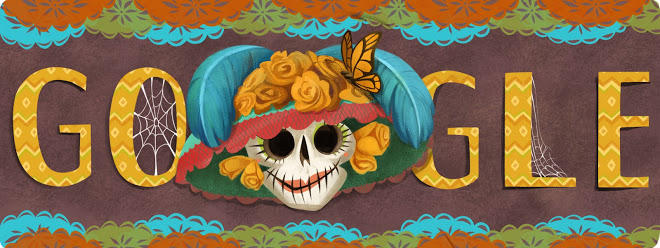 Doodle di Google 2013 - Dia de Muertos - Day of the dead