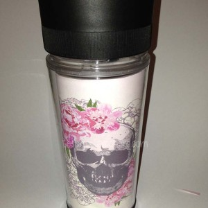 thermos personalizzato sugar skull-teschio