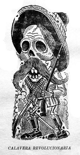 guadalupe posada - calavera revolucionaria