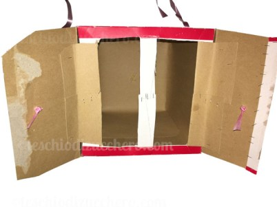 pignatta diy scatola panettone
