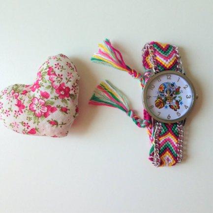 negozio flores que vuelan orologio-teschio