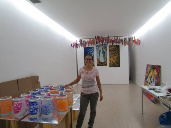 Altar de Muertos Istituto Cervantes 2015