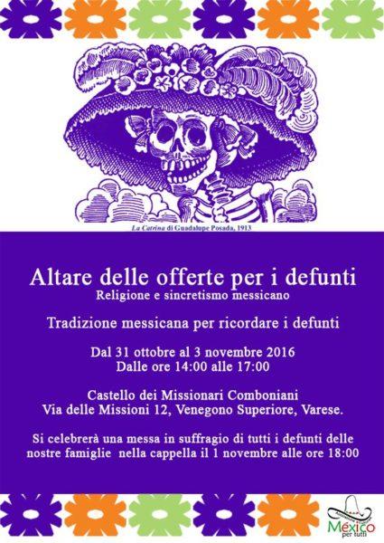 Dia de Muertos in Italia 2016 - Varese