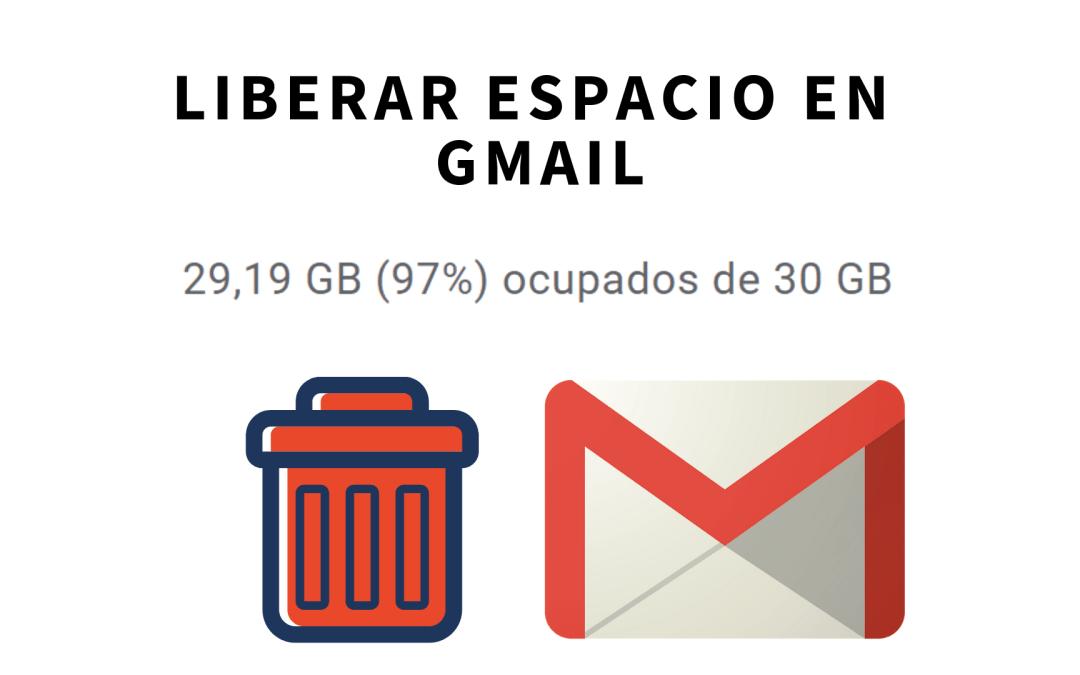 Liberar espacio borrando archivos adjuntos