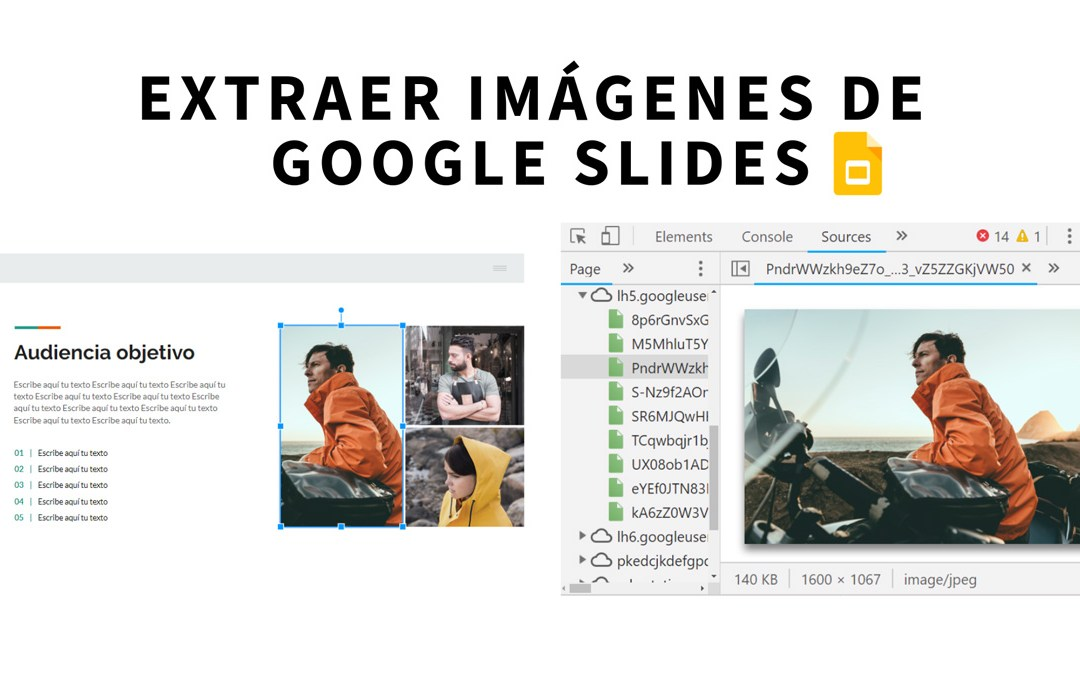 Cómo descargar imágenes de presentaciones de Google