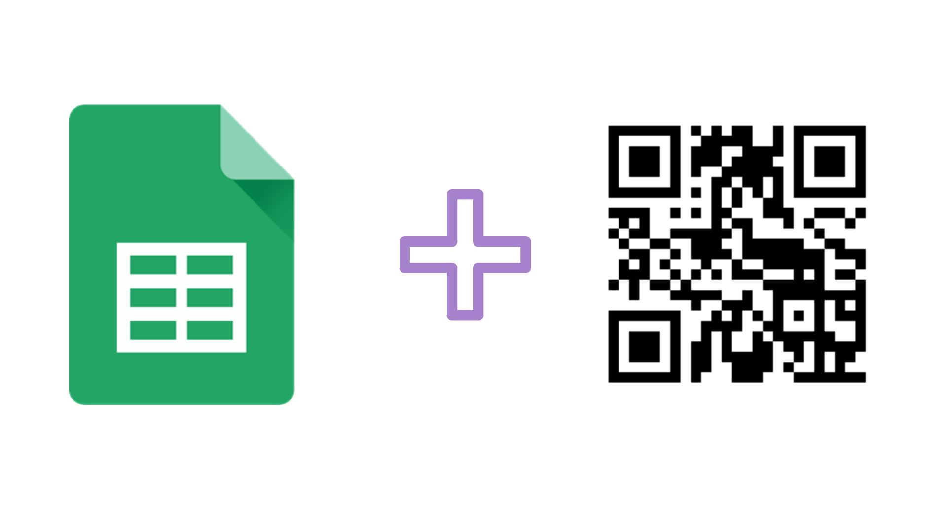 Crear códigos QR con Google Spreadsheets