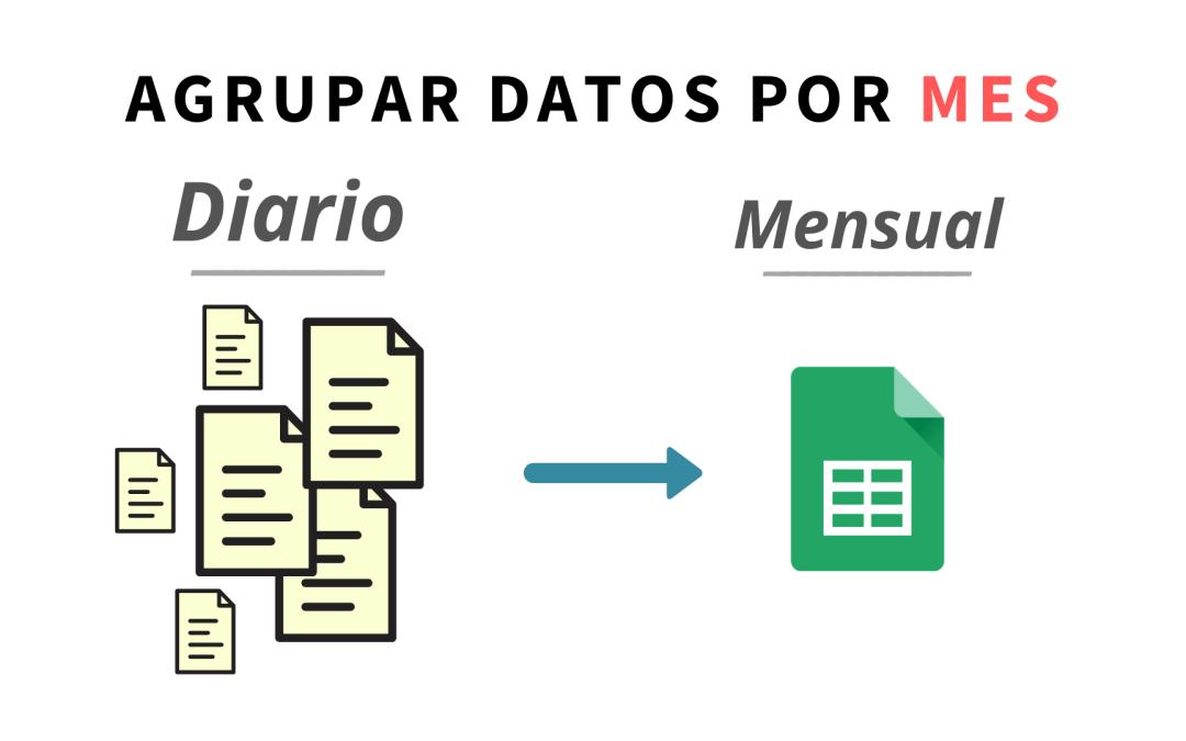 Agrupar datos por mes
