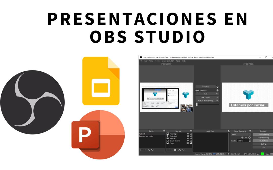 Cómo integrar una presentación de Google Slides a tu streaming en OBS Studio