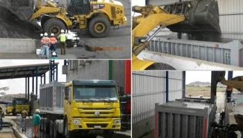 Copper concentrate Loading Operation Details Concentrate Loading: Weighing, Truck Wash and Departure to Concentrate Ore Terminal to Massawa Port