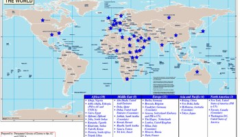 Eritrea has 36 Diplomatic and Consular Missions around the globe