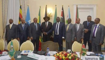 President Kiir and rebel chief agree to form transitional government within 60 days in move hoped to end civil war