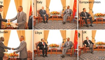 """""""Slowly, but surely, the diplomatic tide is turning in Eritrea's favor"""" - Yeman Gebreab, Head of Political Affairs at PFDJ"""